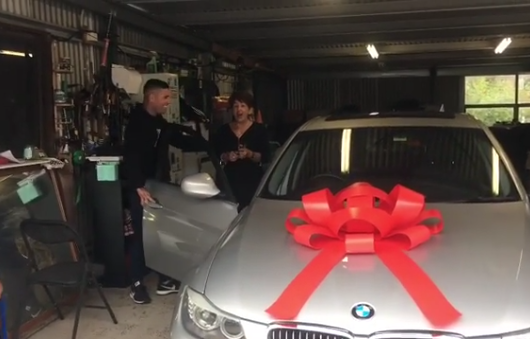 Sons Gift Mom BMW